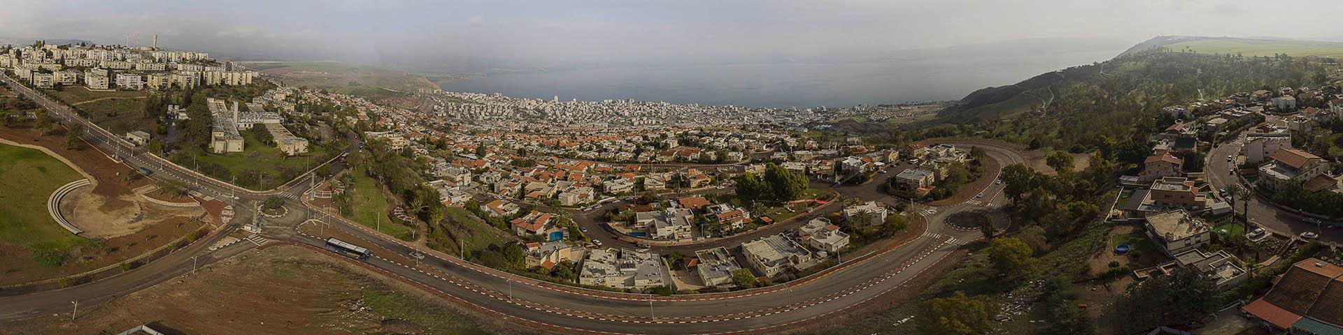 צילום אווירי 360 מרחפן