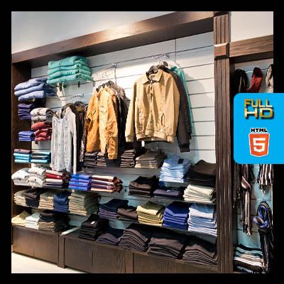 חנות בגדים סיור וירטואלי לעסק