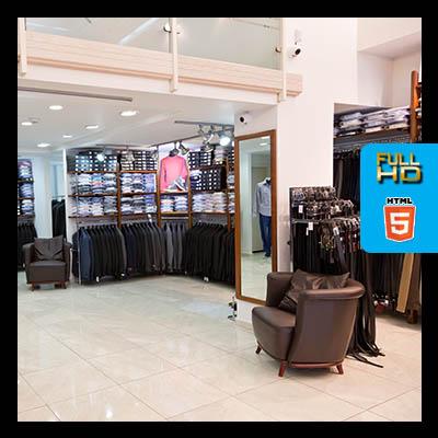 סיור וירטואלי לעסק חנות בגדים