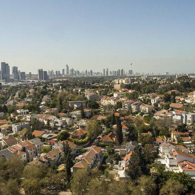 צילום אווירי לפרויקטים בתחום הנדלן רמת החייל תל אביב