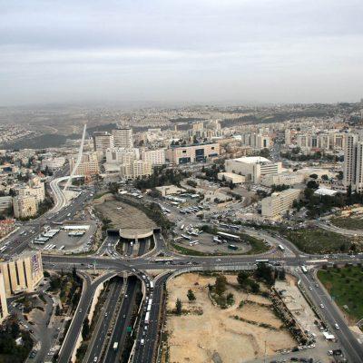 צילום אווירי לפרויקטים עירית ירושלים