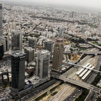 צילום אווירי לפרויקטים בתחום הנדלן מגדלי תל אביב