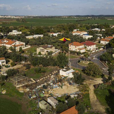 צילום אווירי למעקב בניה באמצעות רחפן